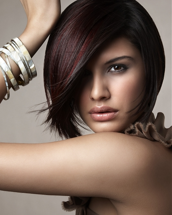 Get wonderful tresses shade ideas for lesser tresses styles for a head ...
