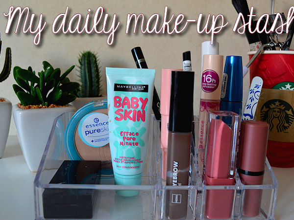 What's in my daily make-up stash?