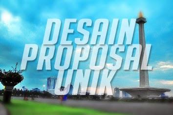 desain proposal unik buat proposal menarik