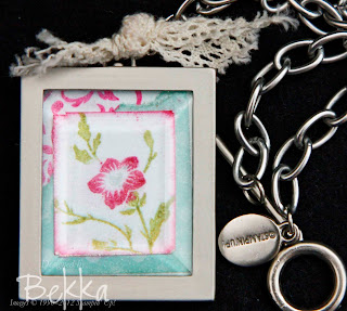 Simply Adorned Necklace with Picture Insert