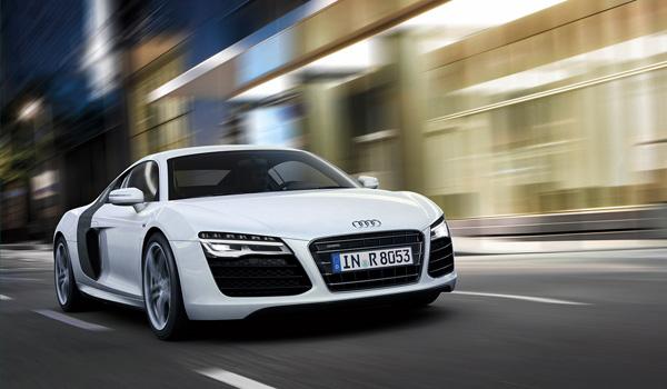 Audi R8 2013: Refresh + V10 Plus Model white