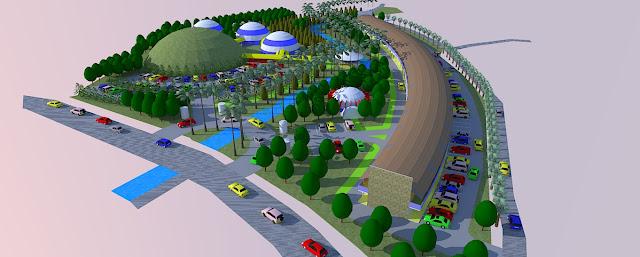 Site Plan Tempat Berlibur