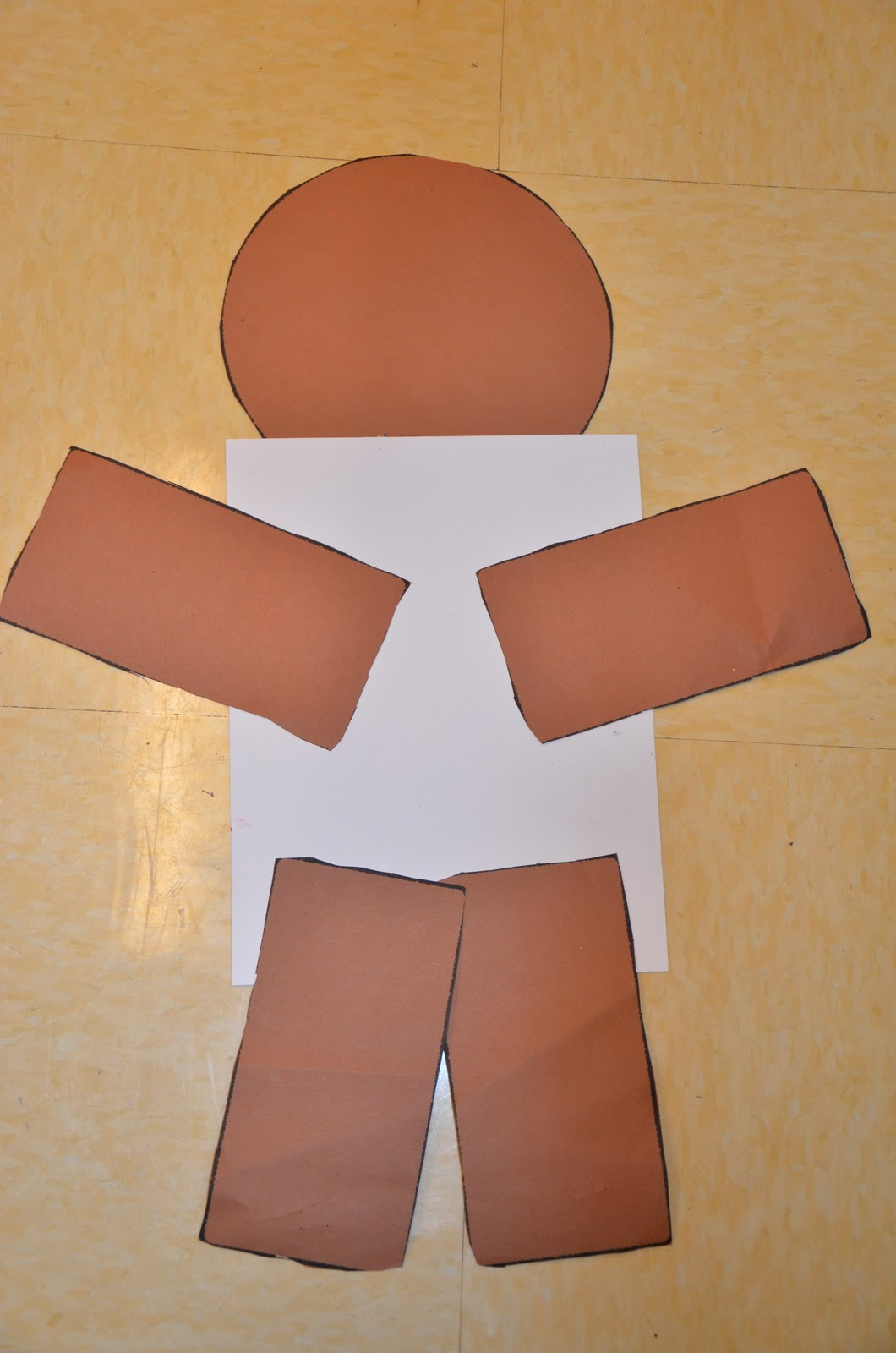 Man Mask Template Related Keywords & Suggestions - Gingerbread Man ...