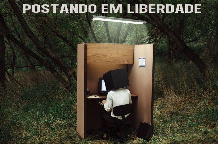 <center>Postando em Liberdade</center>