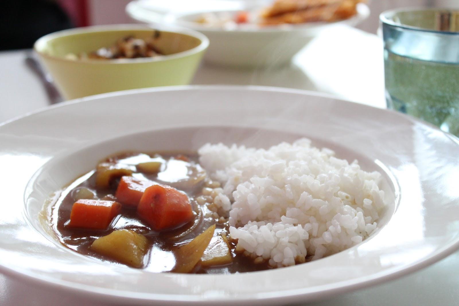 Kitchenfoxtales  Ketunhäntä keittiössä カレーライス ・ Japanilainen curry