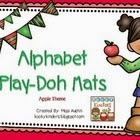 http://www.teacherspayteachers.com/Product/Apple-Theme-Alphabet-Play-Doh-Mats-1421994