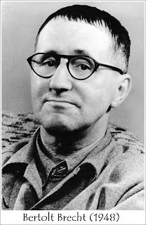 Bertold Brecht en 1948. Fuente de la imagen