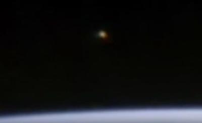 UFO Sighting Caught Above Earth's Orbit 2015, UFO Sightings