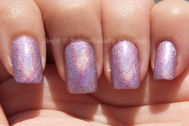 Pupa - Lilac Holographic 036