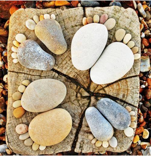 Ứng dụng của đá cuội vàng tự nhiên