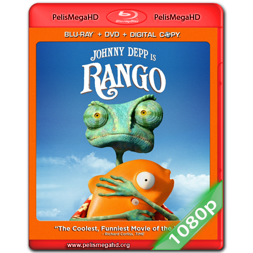 RANGO (2011) EXTENDED BLURAY 1080P ESPAÑOL LATINO – INGLÉS