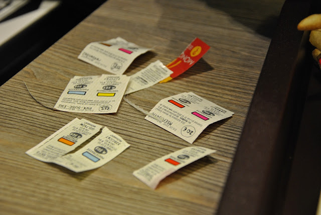 McDonald's Monopoly Aktion