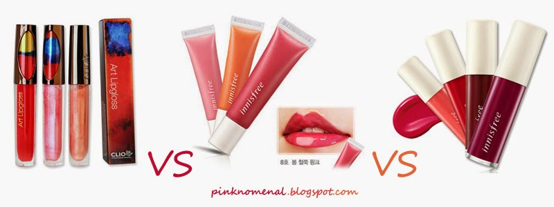 Picture of Clio Professional and Innisfree Lipgloss