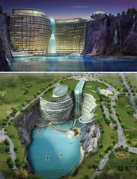 Waterworld Hotel (China): an amazing aquatic themed hotel