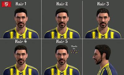 PES 2013 Şener Özbayraklı Face by Emre