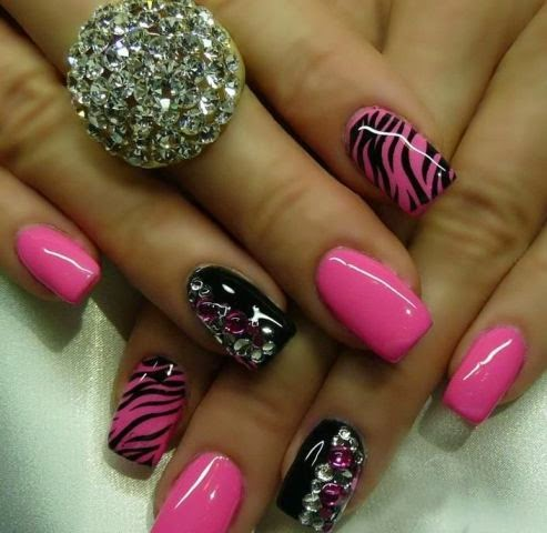 Nails Designs 2014 Pink Picture