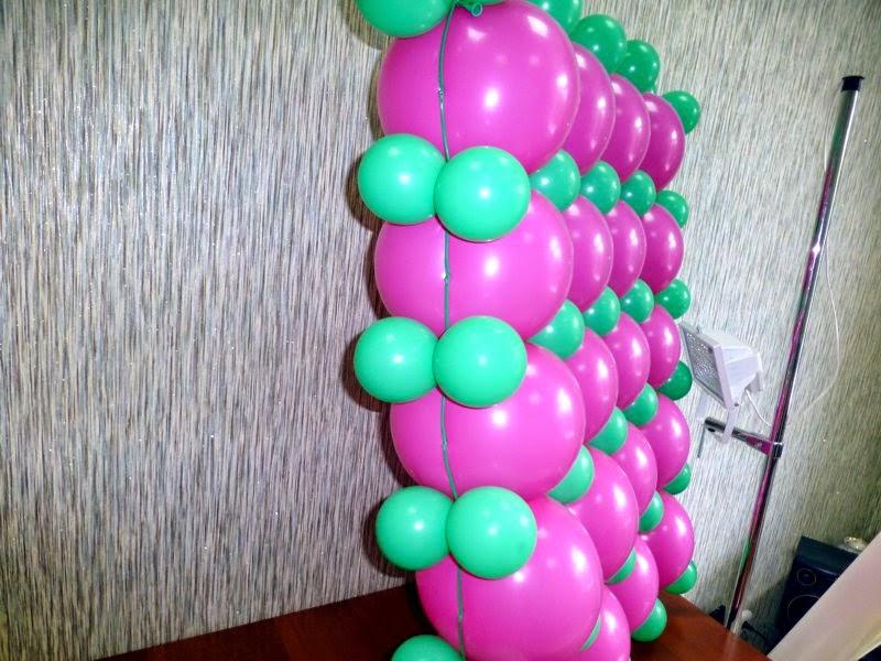 Как сделать сетку из шаров 27