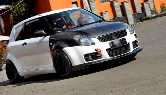 modifikasi suzuki swift st