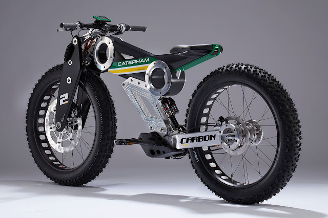 Caterham Bikes Carbon E-Bike rear
