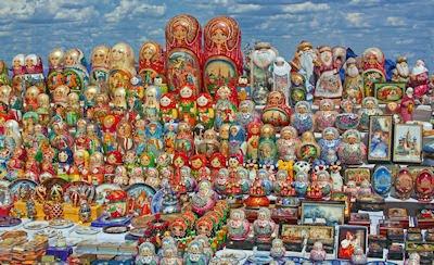 Muñecas Matryoshka - Dolls - Souvenirs de Rusia