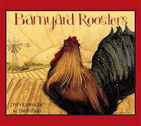2014 Barnyard Roosters Calendar