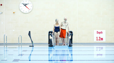 Poolpod for older people or those with restricted mobility