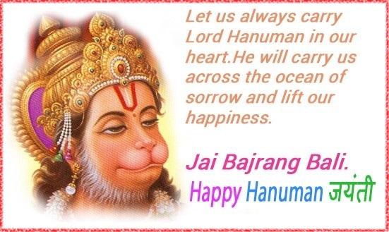 Khushi For Life Latest Hanuman Jayanti Wishes Wallpaper For Facebook