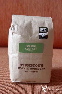 Gourmandise café stumptown