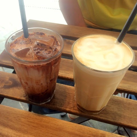 Lola's Cafe Iced Cappuccino & Mocha