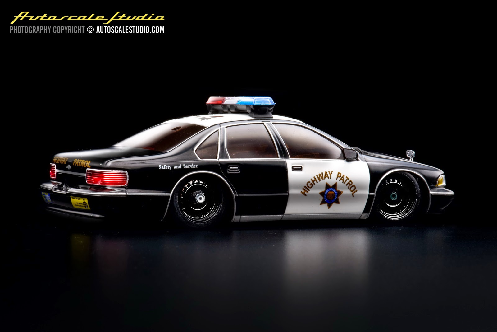 Mzg107p chevrolet caprice 9c1 1996 police car