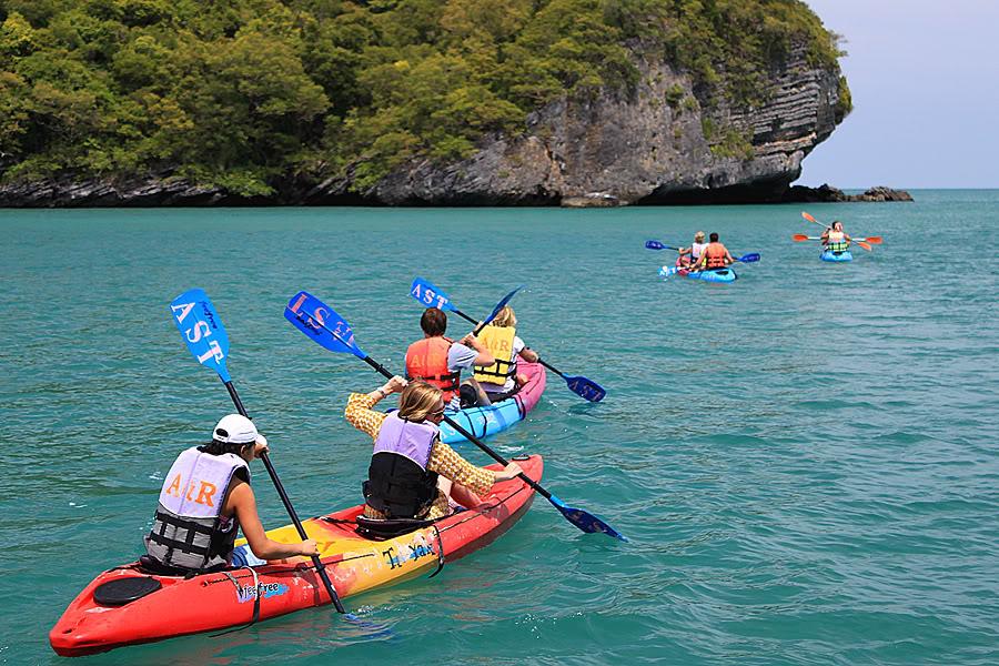 THAILAND TRAVEL AWESOME: Koh Samui Kayak Camp(2 Days 1 ...