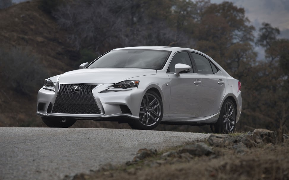 The 2014 Lexus USA IS Sedan is refreshing or revolting