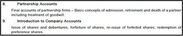 ca cpt STUDY MATERIAL FUNDAMENTALS OF ACCOUNTING