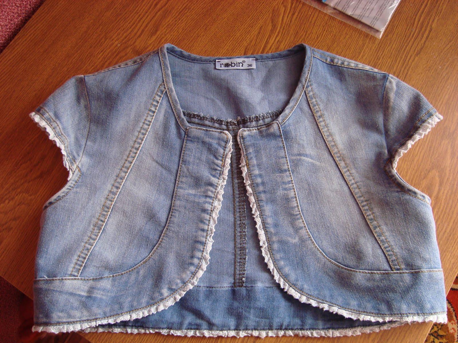 Как сшить джинсовую куртку для девочки самостоятельно? 80