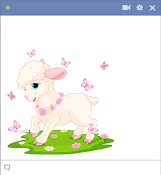 Little lamb icon