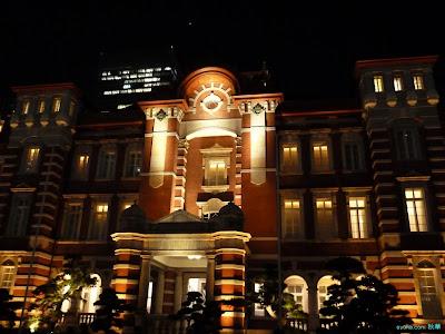 一番星と東京駅