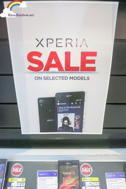 Xperia Sale on Selected Models