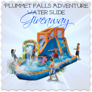 Plummet Falls Adventure Water Slide Giveaway, ends 6/5/13