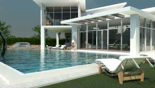 Yo hen glass c a fachadas premium - Casas minimalistas por dentro ...