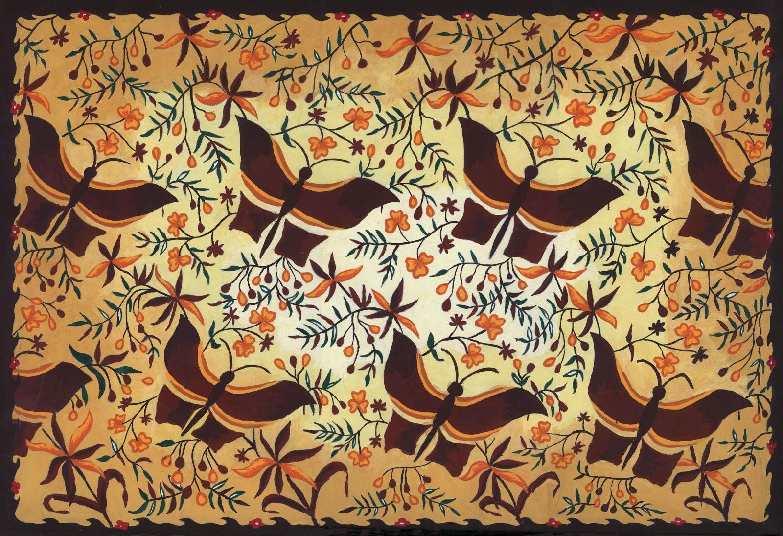 gambar batik nusantara dan asalnya
