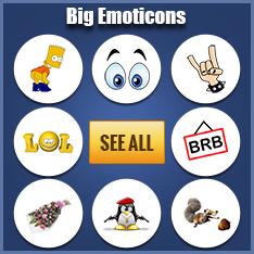 Big Facebook Emoticons Codes