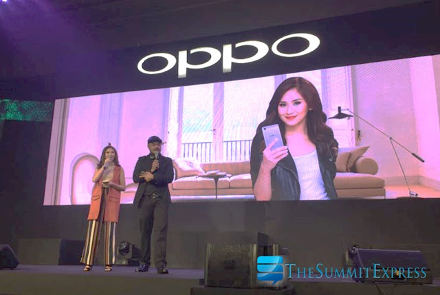Popstar Princess Sarah Geronimo grace OPPO R7 Series