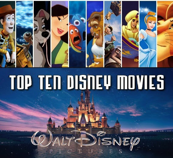 Top 10 Animated Disney Movies Online
