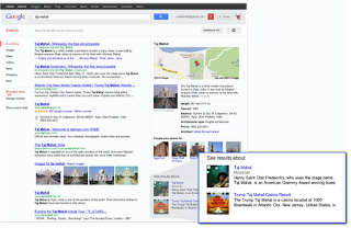 Example of Knowledge Graph enabled search in Google