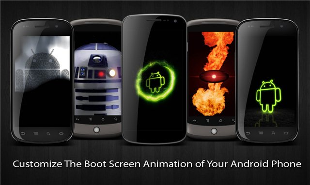 How To Install A Custom Android Boot Animation ID By Changing Your Stock One
