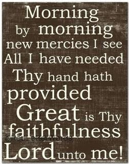 Great Is They Faithfulness