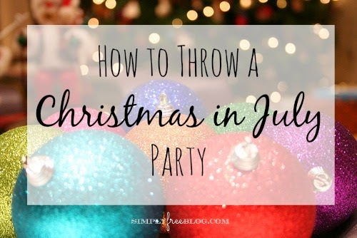 How to throw a 39 christmas in july 39 party simply elliott for Christmas in july party ideas