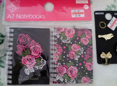 Primark A7 Notebooks
