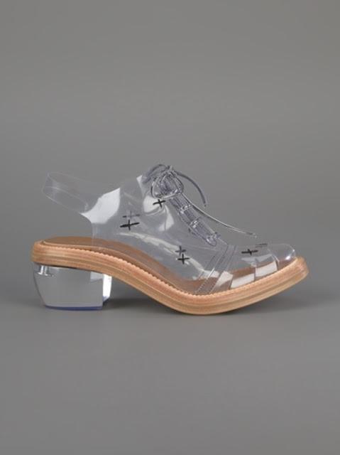 simone rocha glass heels