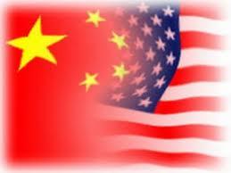 China_US flag